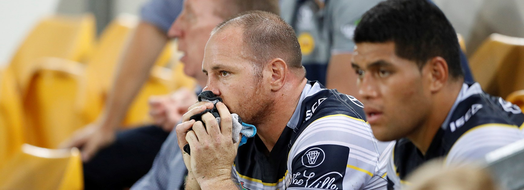 North Queensland prop Matt Scott was one of several Cowboys injured in the Round 2 clash with the Broncos.