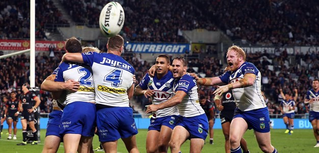 Bulldogs too good for scrappy Warriors
