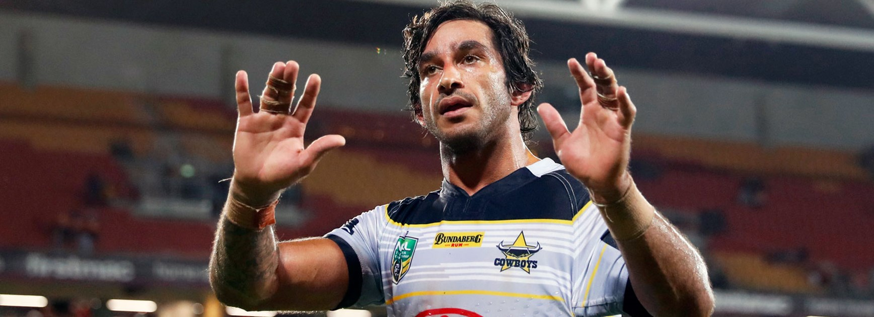 Johnathan Thurston following the Cowboys' golden point win over the Broncos.