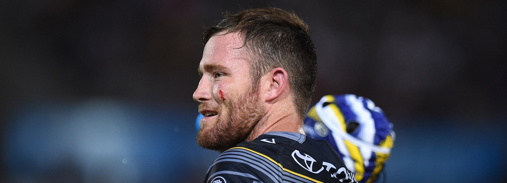 North Queensland Cowboys second-row forward Gavin Cooper.
