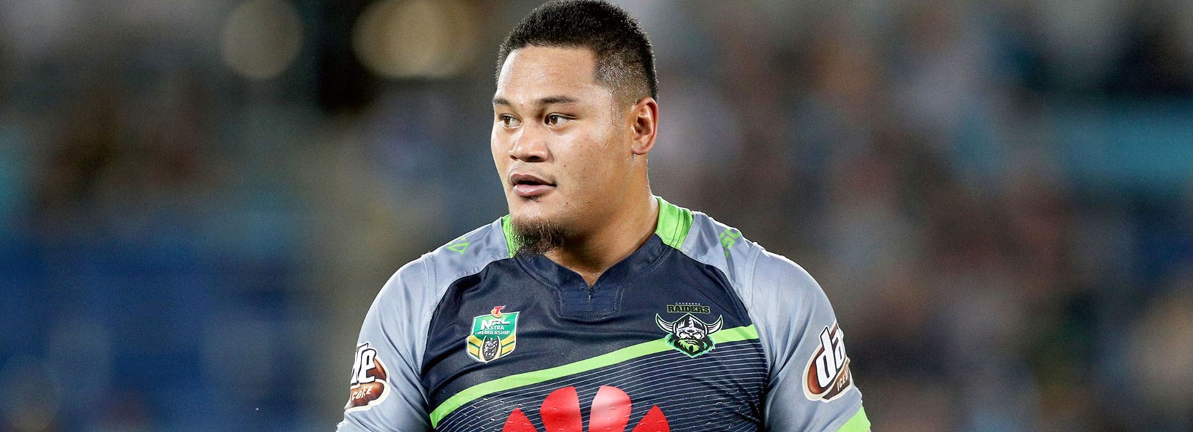 Raiders centre Joey Leilua is pushing for NSW selection in 2017.