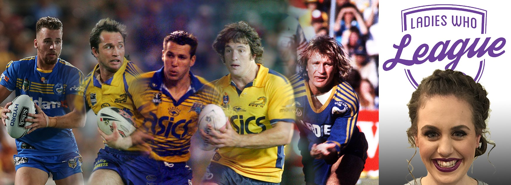The Parramatta Eels are celebrating 70 years.