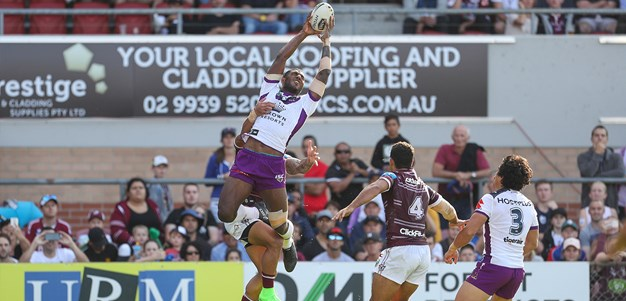 Storm hang on to beat Manly