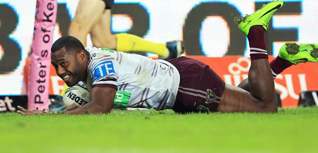 Barrett praises four-try hero Uate