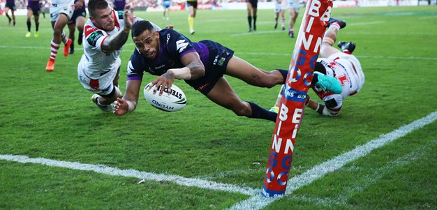 Storm's back three fire to beat Dragons