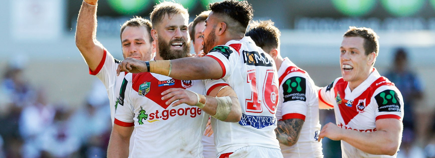 Dragons possess the 'complete' forward pack