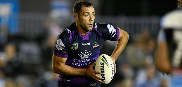 Storm sweating on Smith's return
