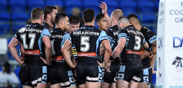 Sharks ready to move on after Origin