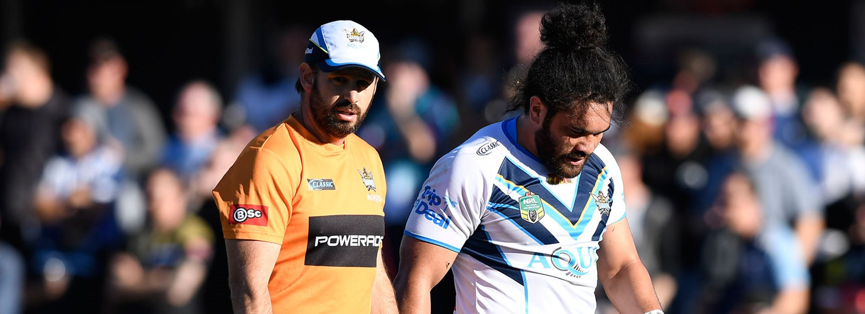 Titans' cause hurt further by Hurrell injury