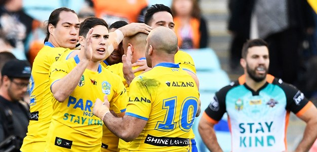 Eels clinch thrilling win over Tigers