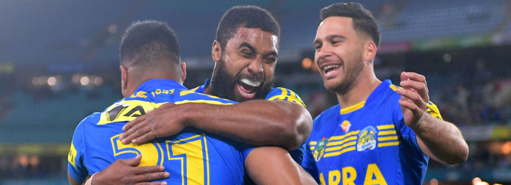 Eels stamp finals credentials