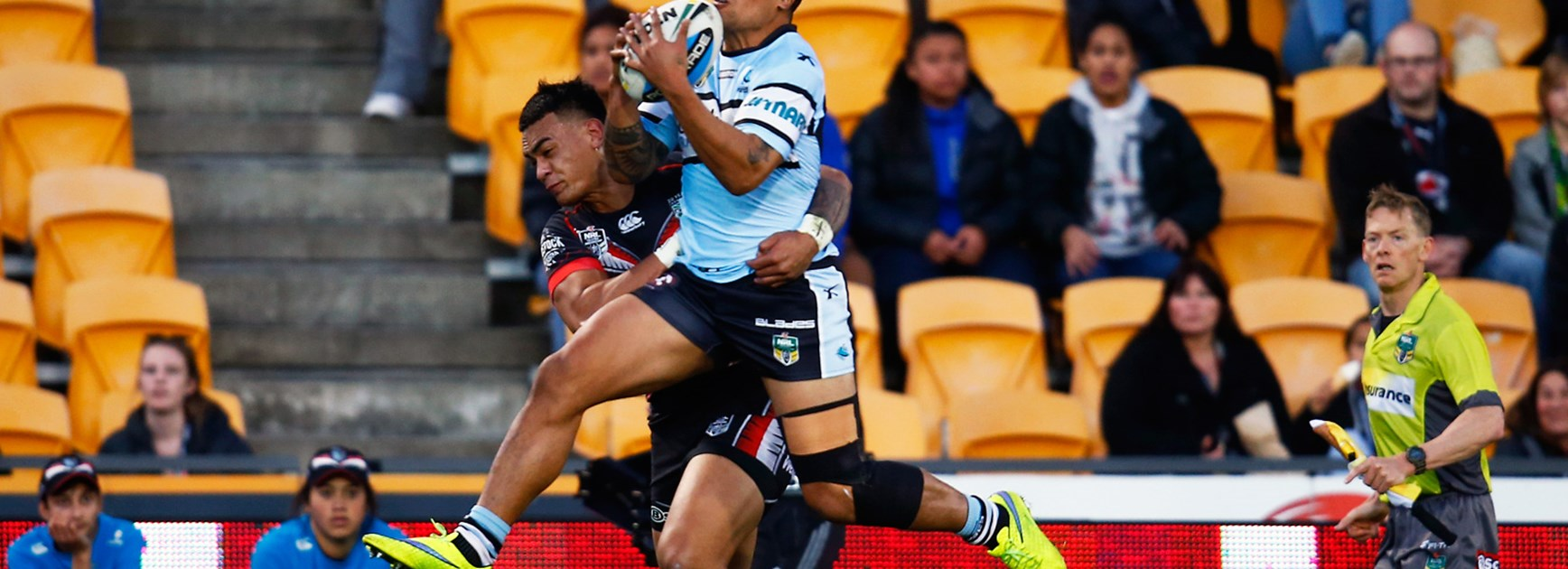 Sharks winger Sosaia Feki is pushing his case for Kiwis selection.