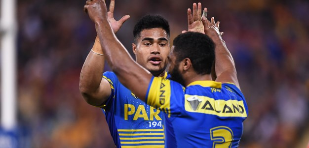 Fastest ever try all part of Parra's plan