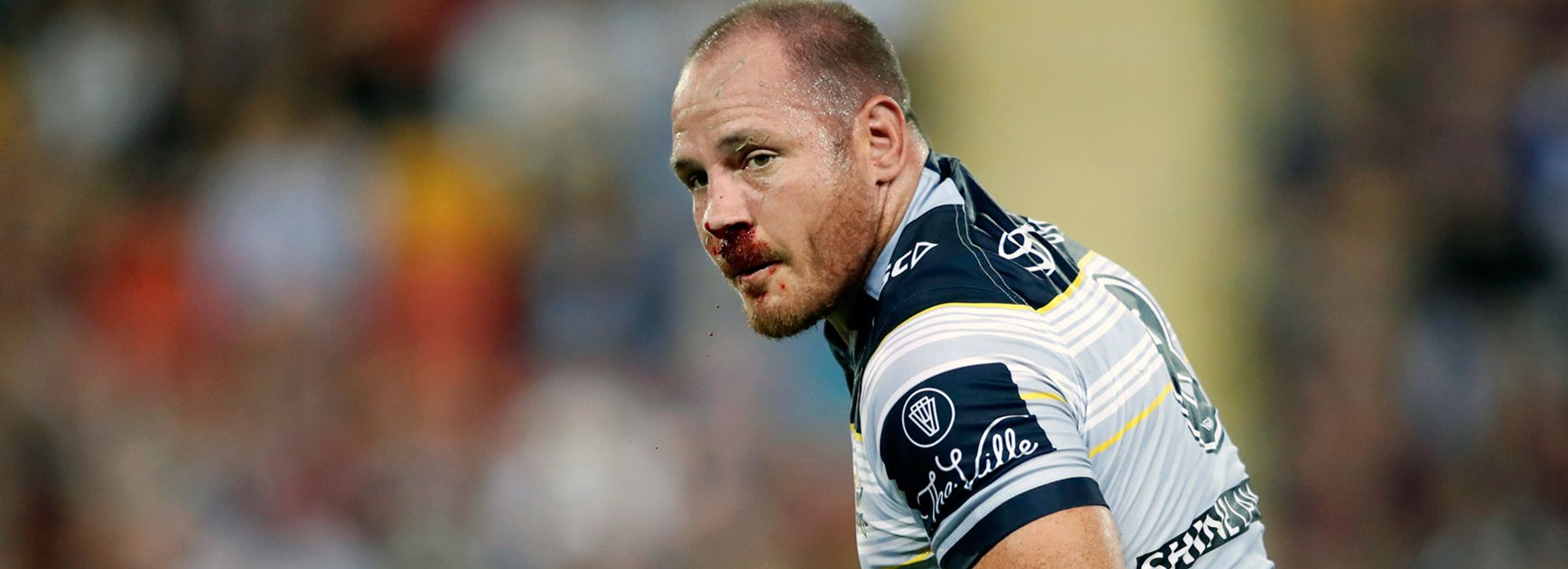 Cowboys co-captain Matt Scott was injured against the Broncos in Round 2.
