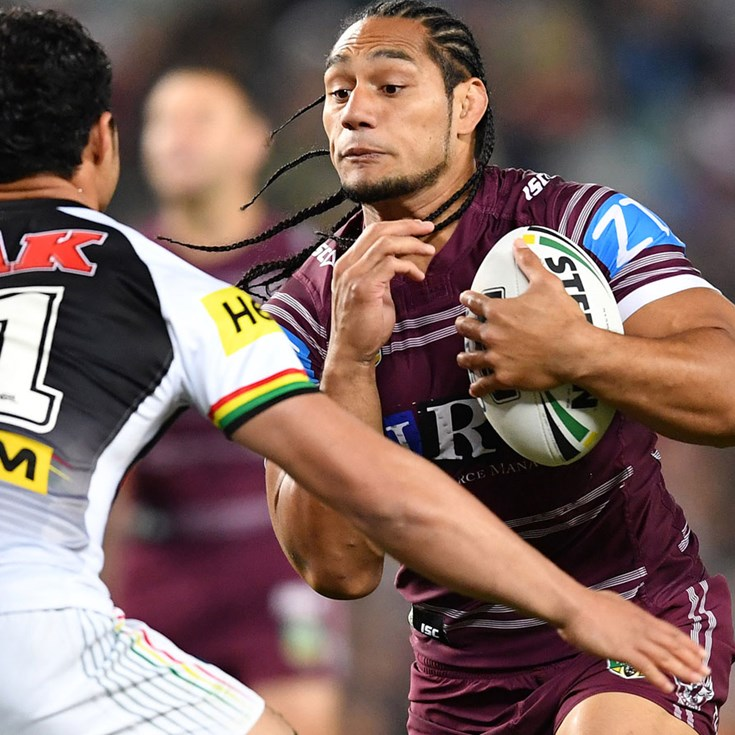 Taupau happy to be on Manly 'rollercoaster'