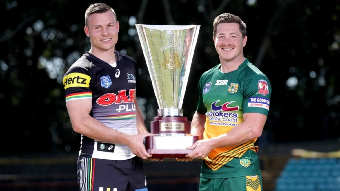 The Penrith Panthers face the Wyong Roos in the Intrust Super Premiership NSW Grand Final.