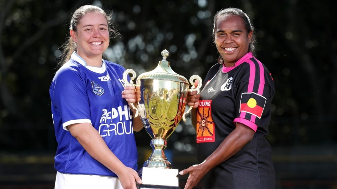 North Newcastle take on the Redfern All Blacks in the Harvey Norman NSW Women's Premiership Grand Final.