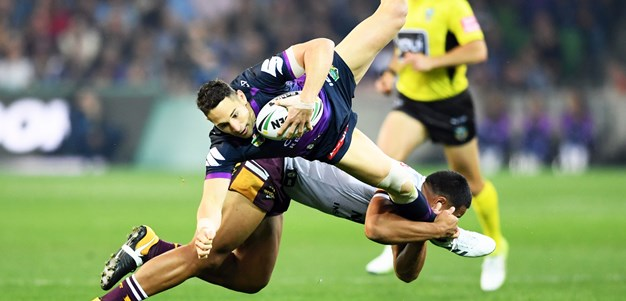 Storm into grand final after smashing Broncos