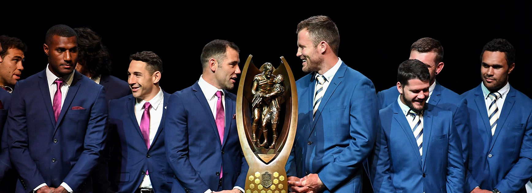 The Melbourne Storm and North Queensland Cowboys are set to face off in the 2017 NRL Telstra Grand Final.