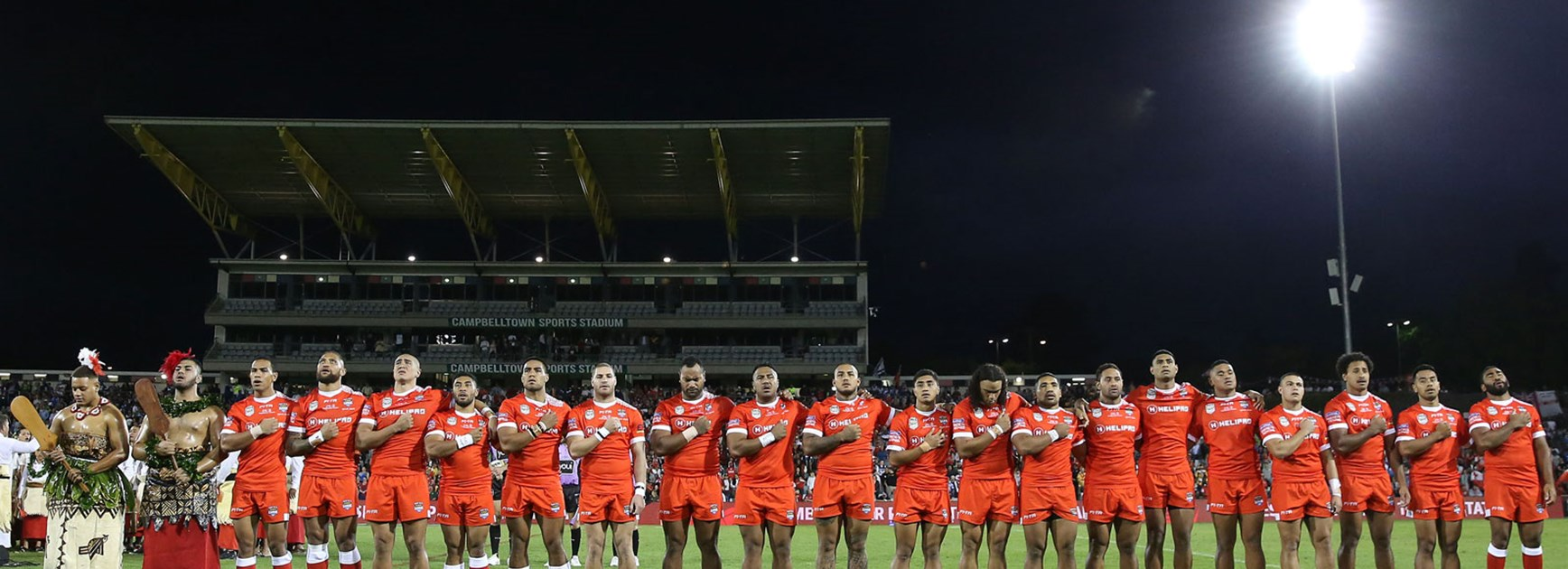 Tonga have named an impressive squad for the 2017 Rugby League World Cup.