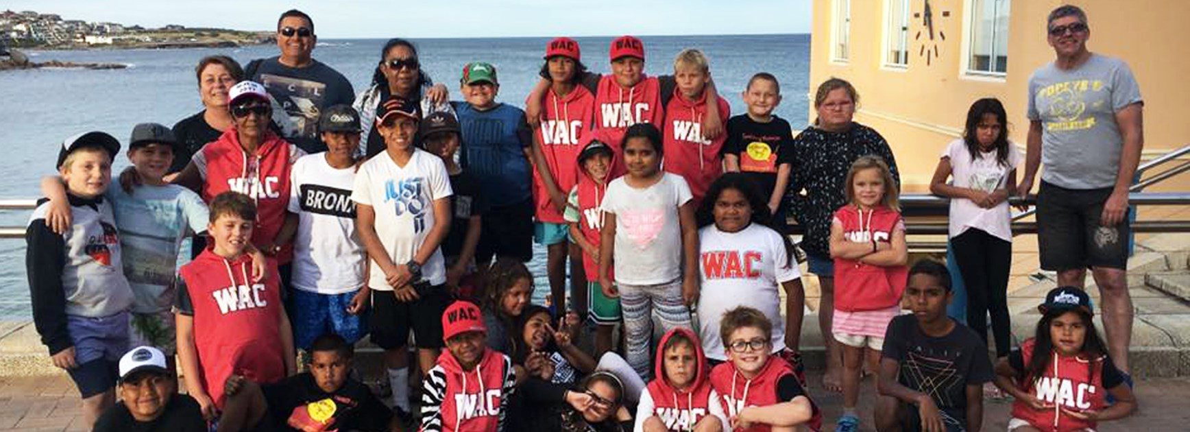 Students and teachers from Walgett Community College were thrilled with their trip to the 2017 NRL Grand Final.