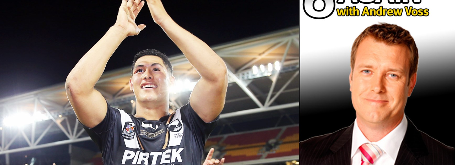 Andrew Voss is predicting big things from Kiwis fullback Roger Tuivasa-Sheck at the Rugby League World Cup.