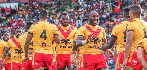 PNG hold on to beat Ireland