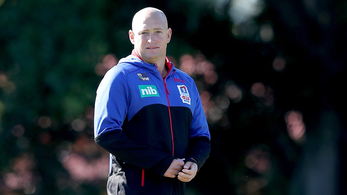 Newcastle Knights coach Nathan Brown is yet to decide who will captain the club in 2018.