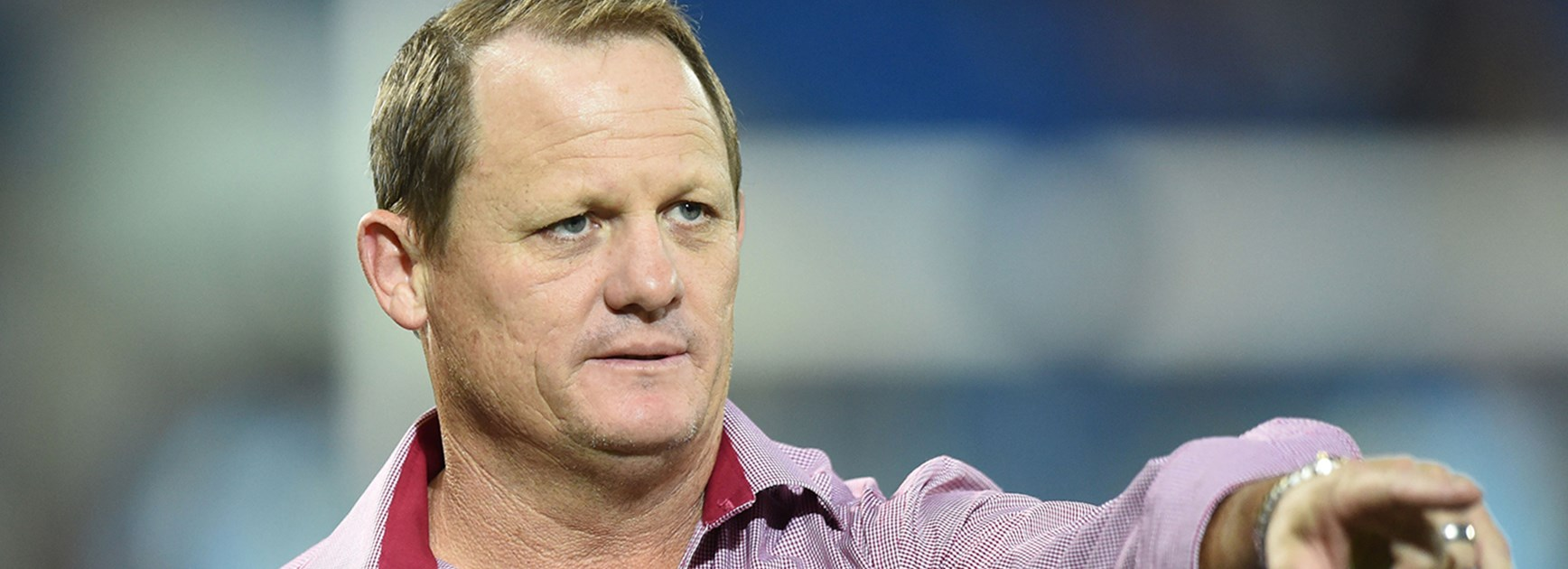 Queensland Maroons coach Kevin Walters is spending some time back at the Broncos for 2018.