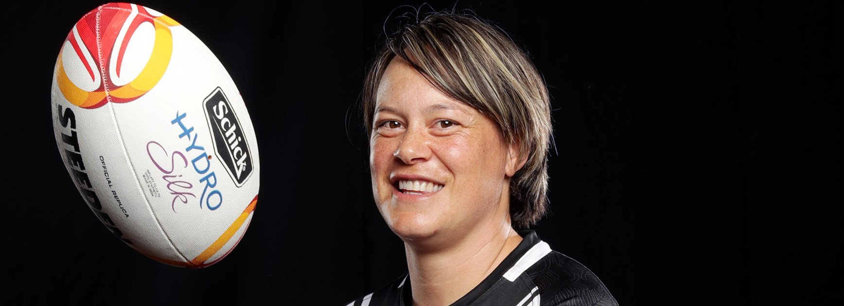Kiwi Ferns skipper Laura Mariu.