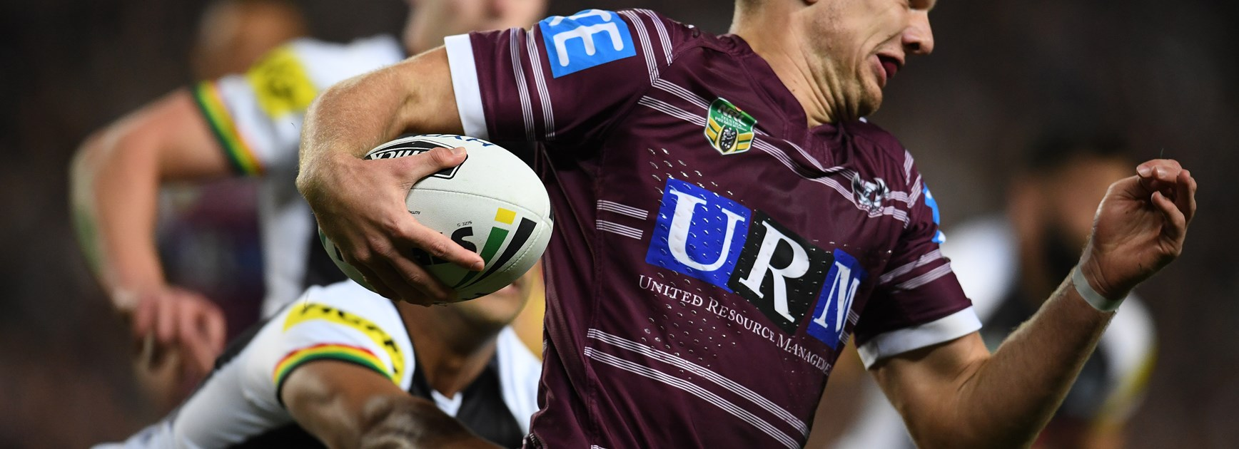 Sea Eagles fullback Tom Trbojevic.