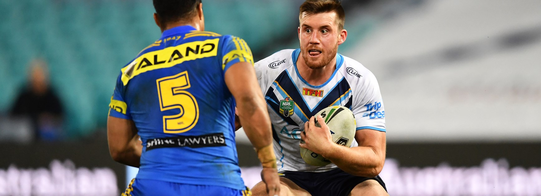 Gold Coast Titans forward Joe Greenwood to follow in James Graham's footsteps
