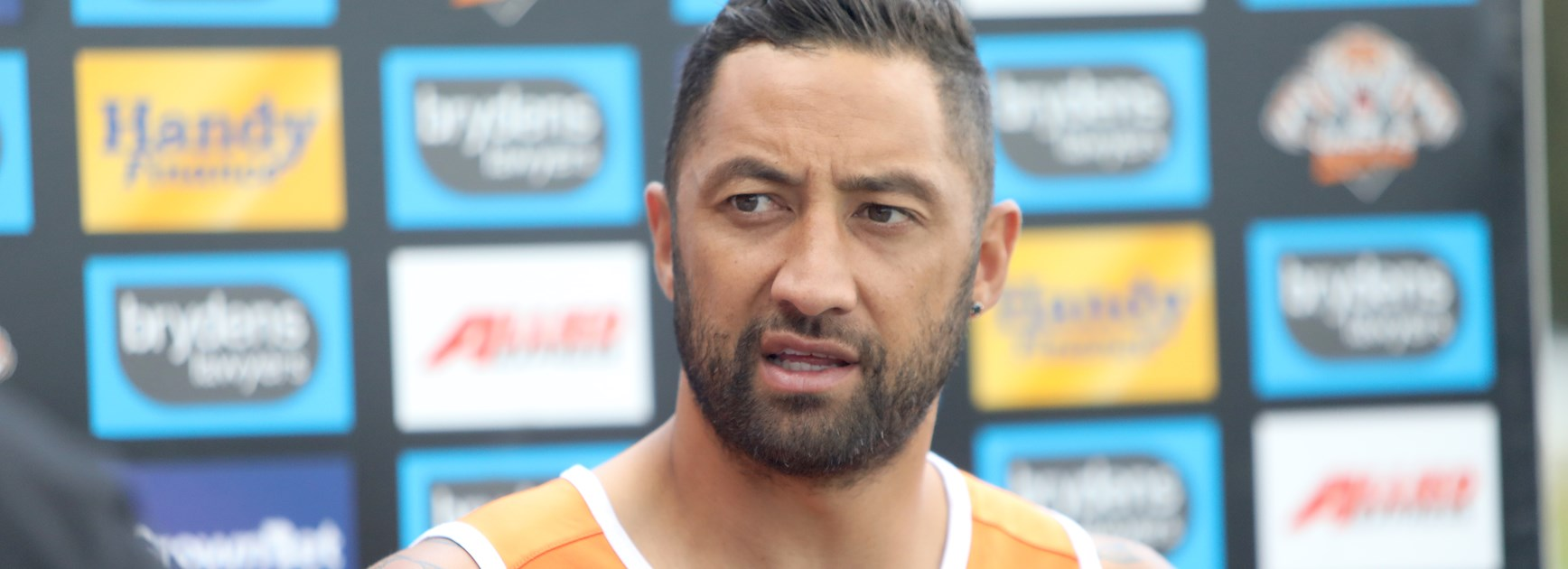 Benji Marshall is back at the Wests Tigers.