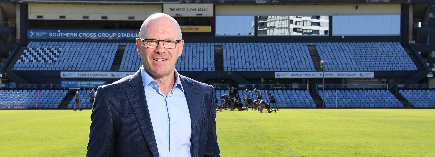 New Sharks chief executive Barry Russell.