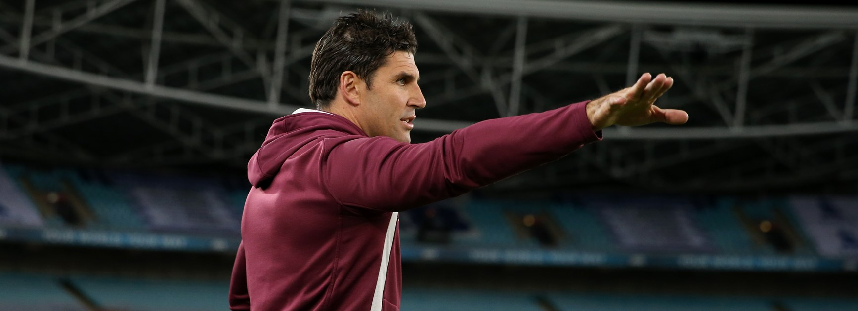 Manly Sea Eagles coach Trent Barrett.