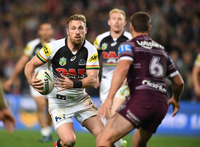 Panthers back-rower Bryce Cartwright.