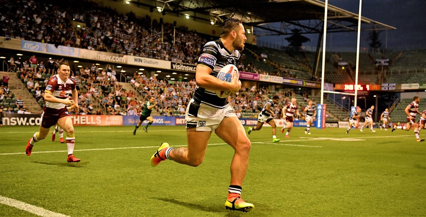 Wigan took on Hull in a Super League match in Wollongong on February 10.