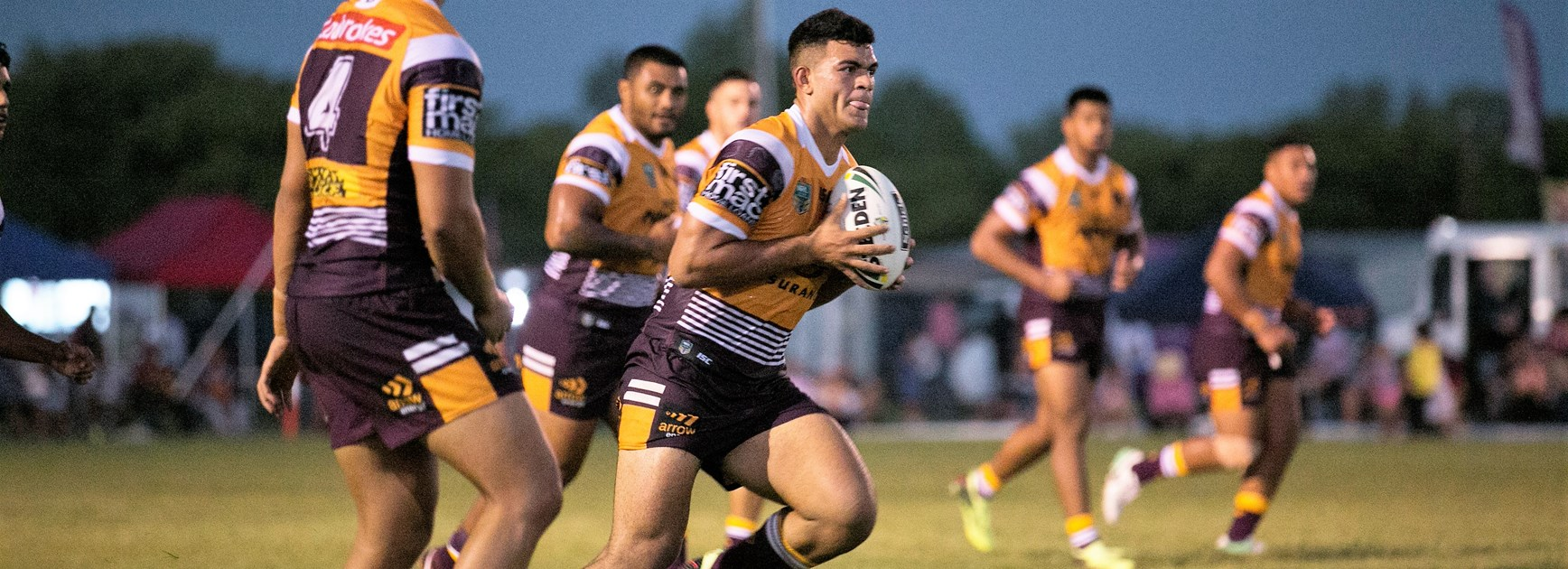 Broncos young gun David Fifita.
