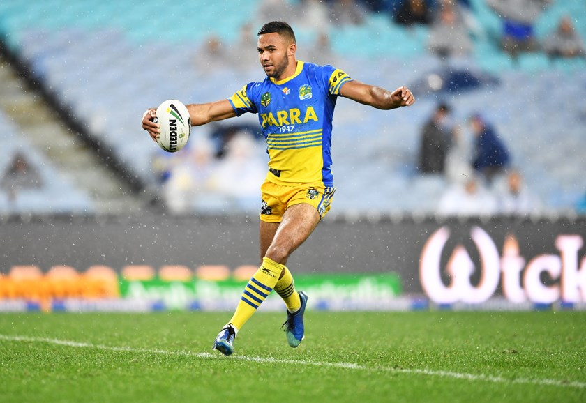 Parramatta winger Bevan French.