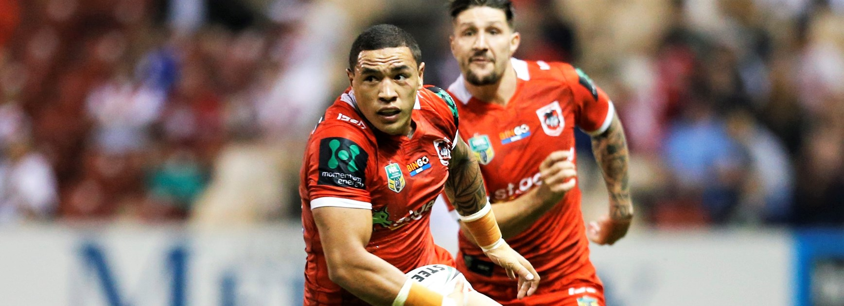 Dragons back-rower Tyson Frizell.