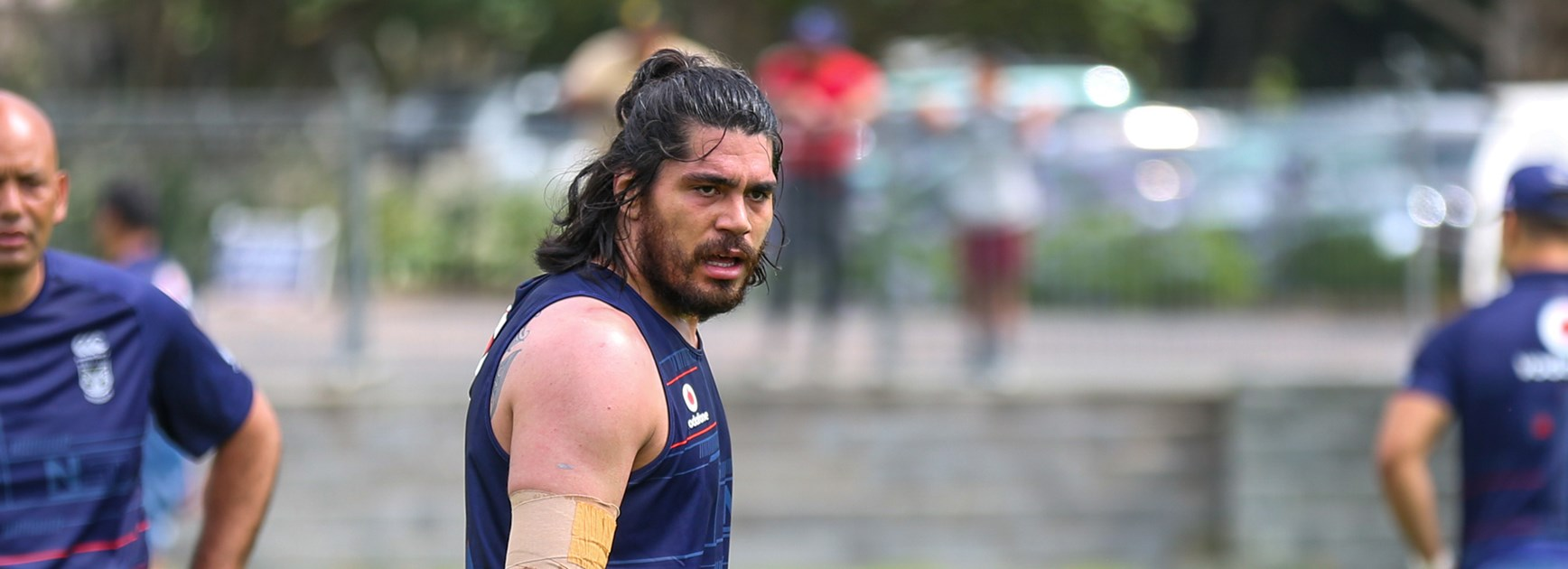Warriors recruit Tohu Harris.