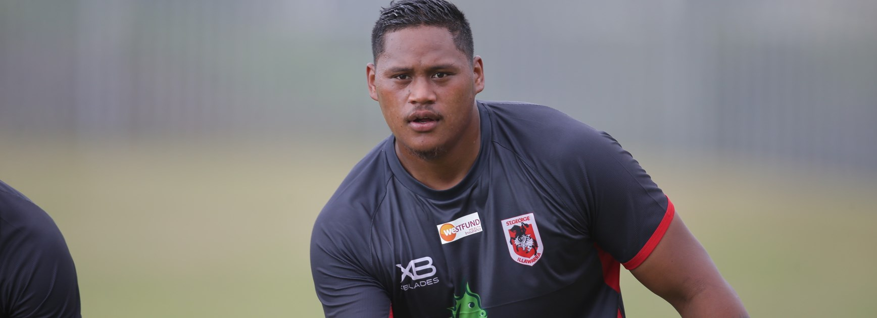 Dragons forward Luciano Leilua.