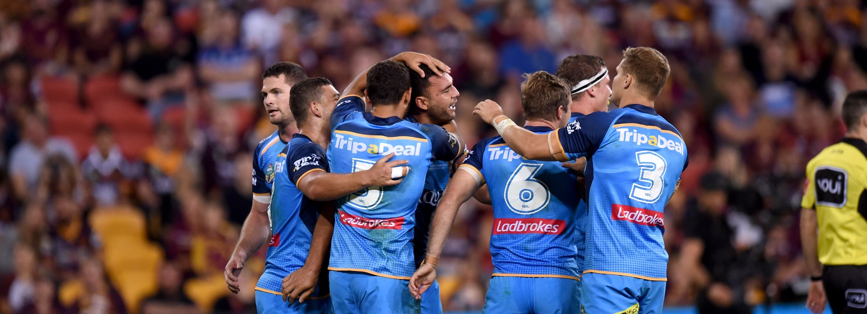 The Gold Coast Titans.