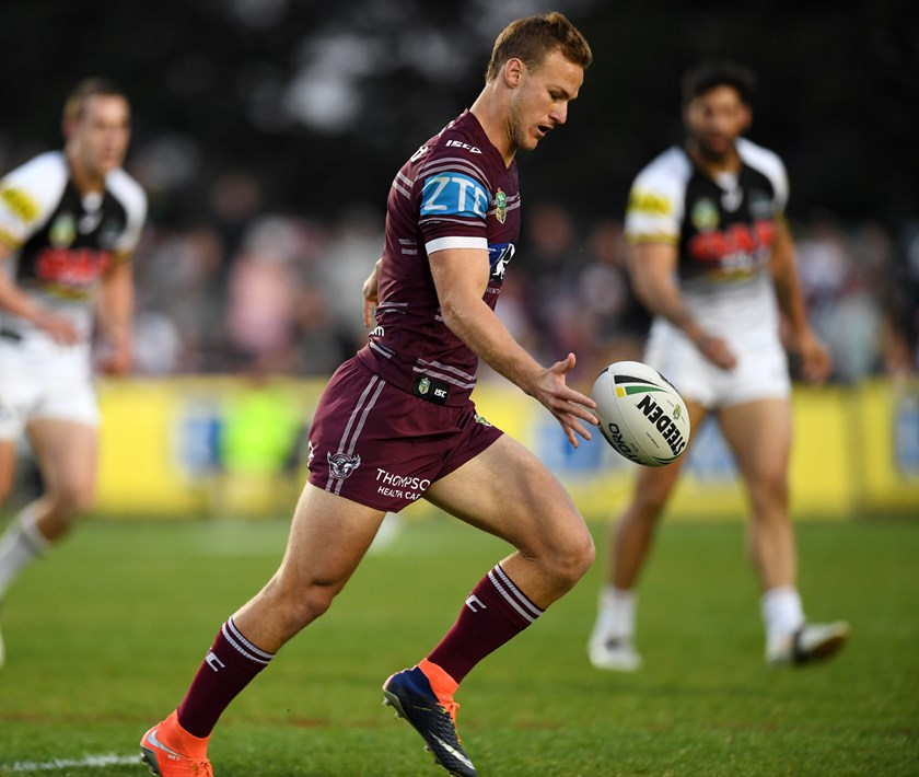 Manly Sea Eagles halfback Daly Cherry-Evans.