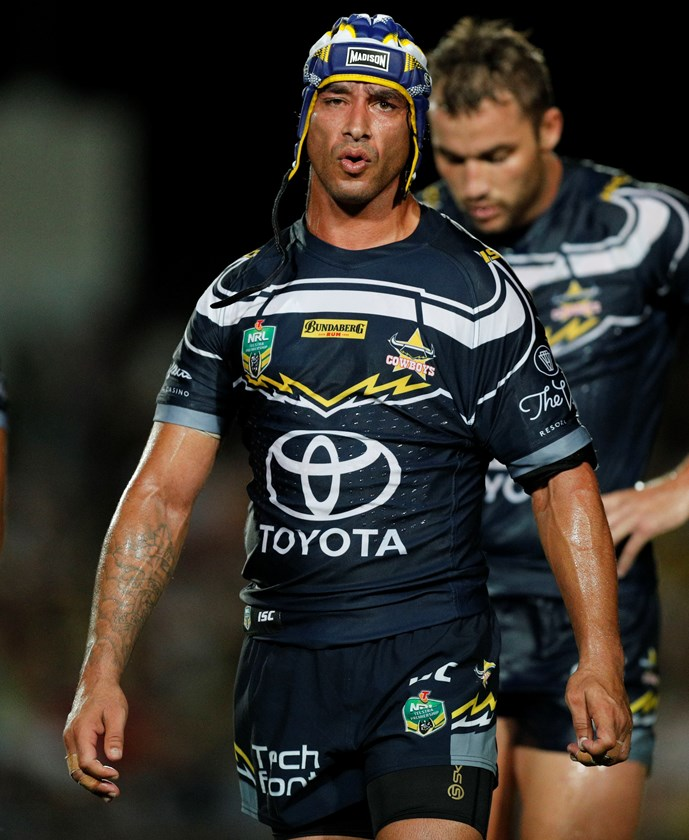 North Queensland Cowboys half Johanthan Thurston.