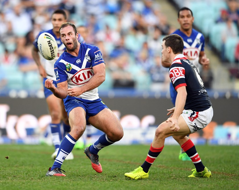 Canterbury Bulldogs half Matt Frawley.