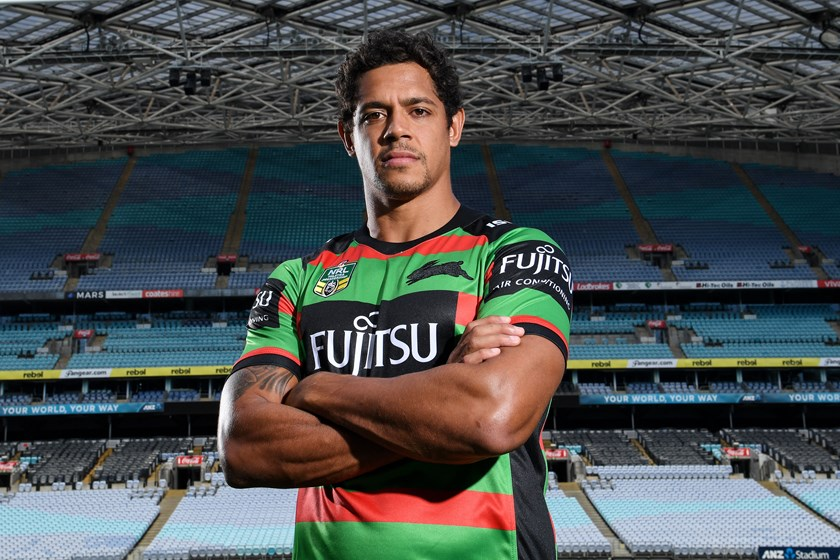 South Sydney Rabbitohs centre Dane Gagai.