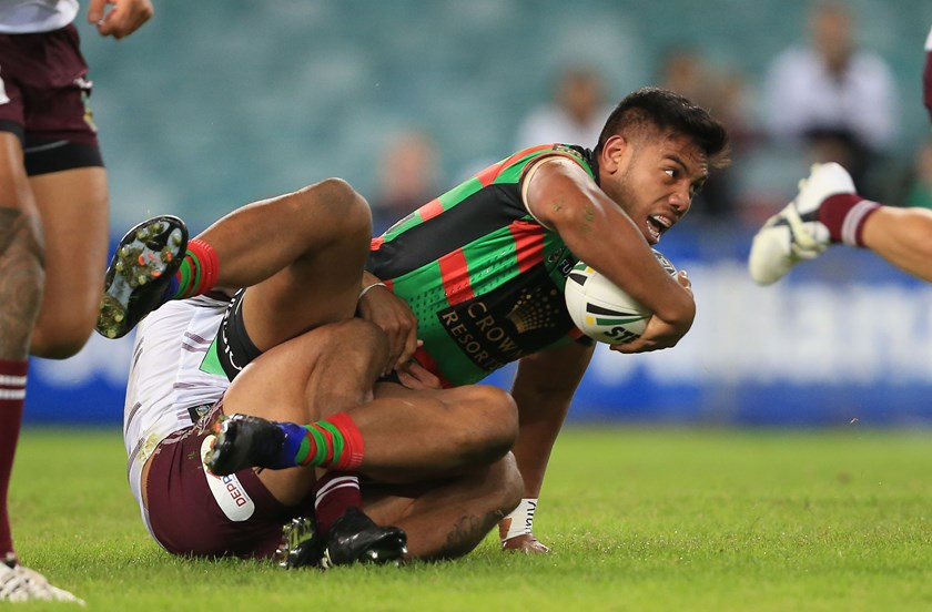 Rabbitohs utility back Hymel Hunt.