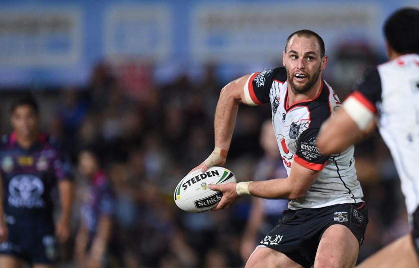 New Zealand Warriors Lock Simon Mannering