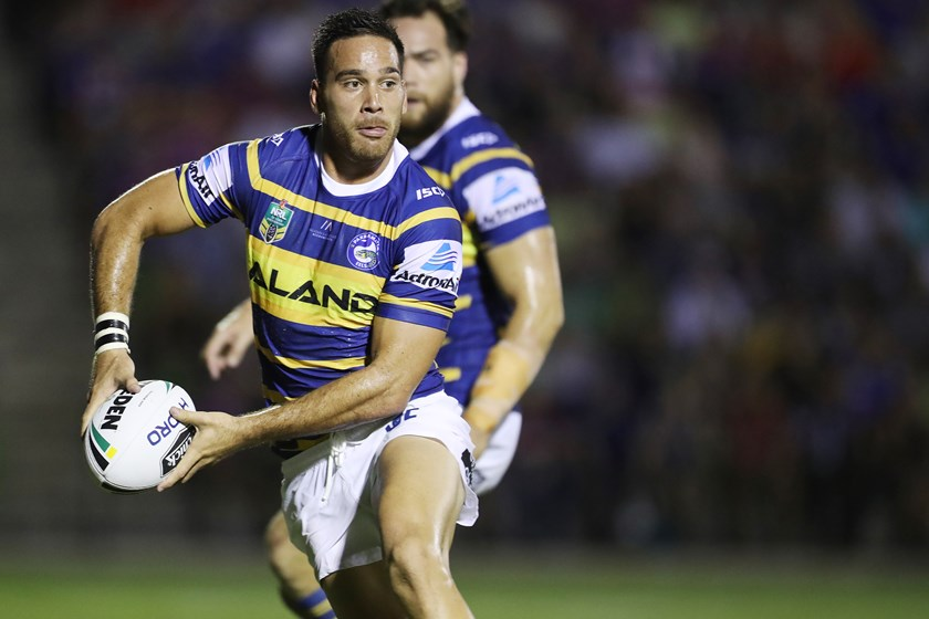 Parramatta Eels five-eighth Corey Norman.